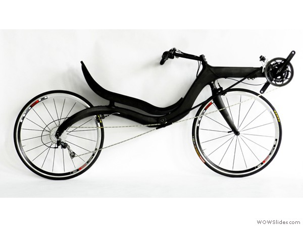 M5 Recumbents » Models » Carbon High Racer
