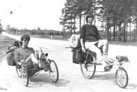 History M5 Ligfietsen