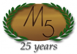 We almost forgot, but... M5 Recumbents celebrates its 25th anniversary at the end of this year!