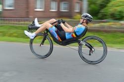 Stijn van de Maele nieuwe wereldkampioen 2013 op M5 Carbon High Racer!